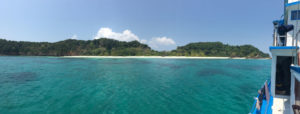 Awesome white sand beach