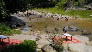 Ranong Hot spring river