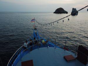 Sailing Burma
