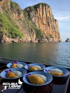 Mango sticky rice ! Ma mueang! !