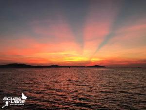 Sunrise on the archipelago