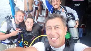 We love diving