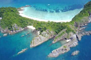 Scuba Libre Adventures_Burma Tour_Thai Sea_Ba Wei opposite drone view(H479)