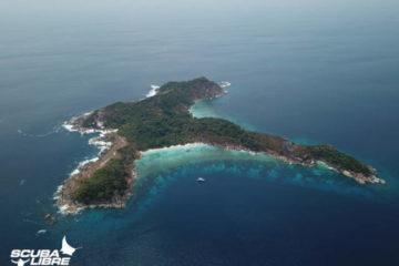 Scuba Libre Adventures_Diving Liveaboard Burma_Mergui_South Twin_Drone capture_H479